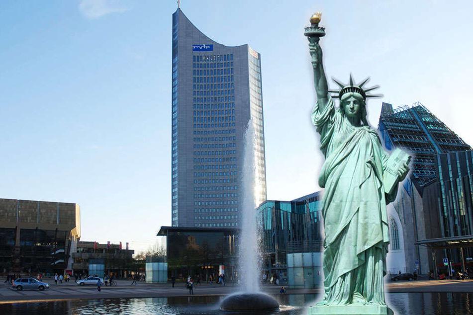 American Spirit- Steht in Leipzig bald eine Freiheitsstatue?