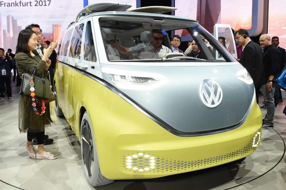 """Der """"I.D. Buzz"""" ist ein Vorgeschmack auf die elektronischen Modelle von Volkswagen."""