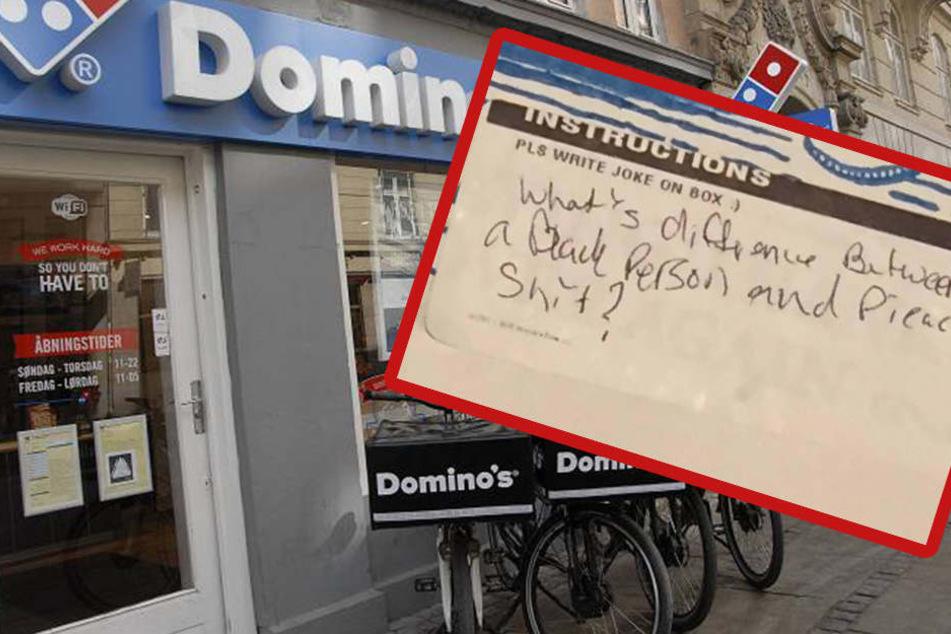Mit diesem rassistischen Witz schockt ein Pizzabote seinen Kunden