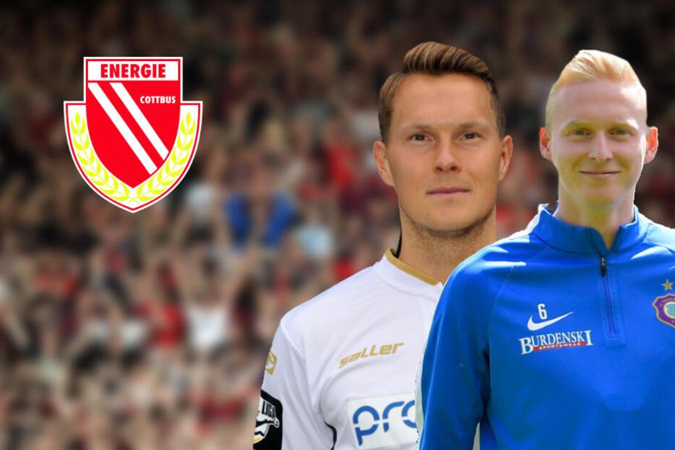 Energies Fans können sich auf Verstärkung für die Defensive freuen. Robert Müller (l.) und Luke Hemmerich (r.) tragen künftig Rot-Weiß.