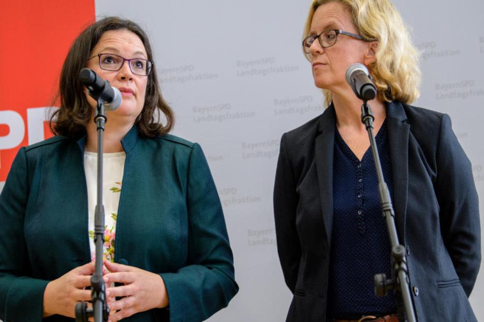 Bayerische SPD-Chefin Kohnen fordert klare Lösungen beim Thema Maaßen