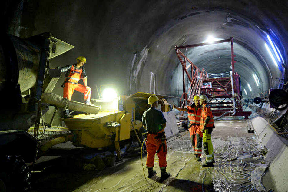 Mittlerweile sind 60 Prozent der Tunnel vorgetrieben. (Archivbild)