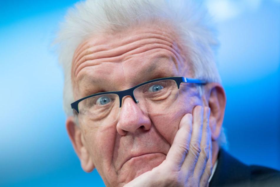 Sieht in testosterongesteuerten Männergruppen ein großes Problem: Baden-Württembergs Ministerpräsident Winfried Kretschmann.