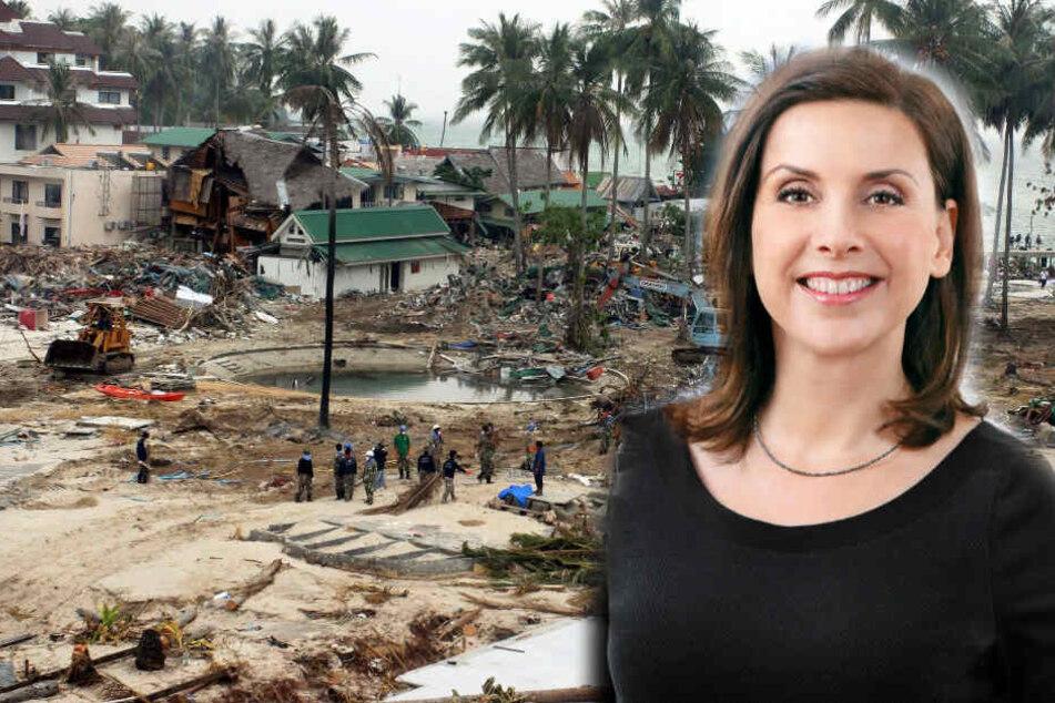 """Ausgerechnet die Tsunami-Katastrophe war Feuertaufe für """"n-tv""""-Moderatorin"""