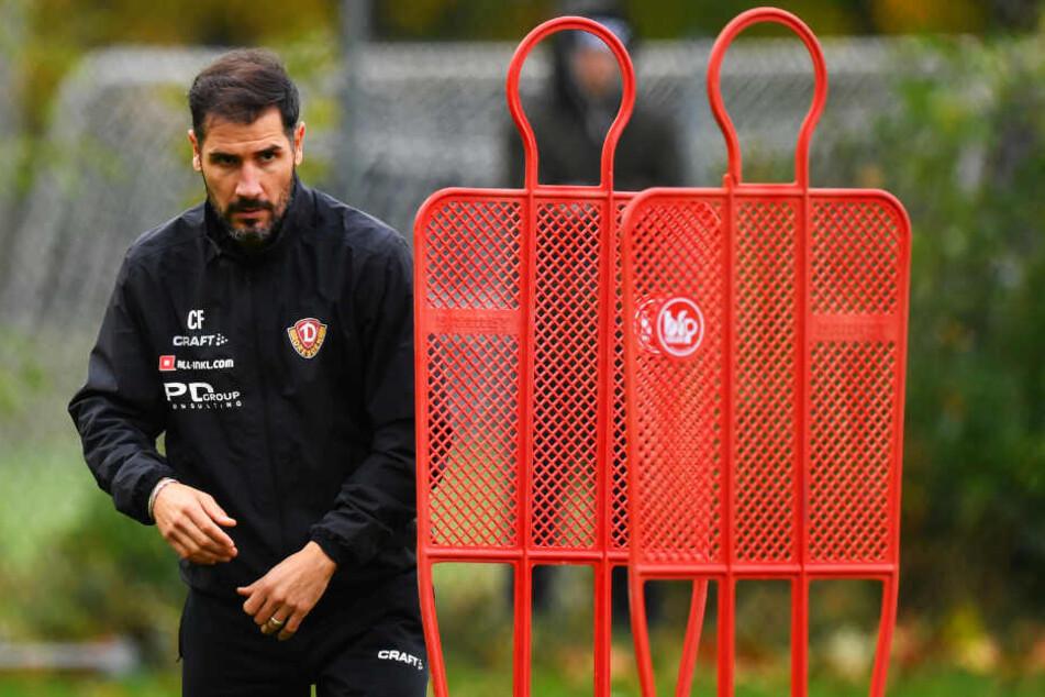 Auch eine Vereinslegende wie Cristian Fiel wird von den Fans mittlerweile immer kritischer gesehen.