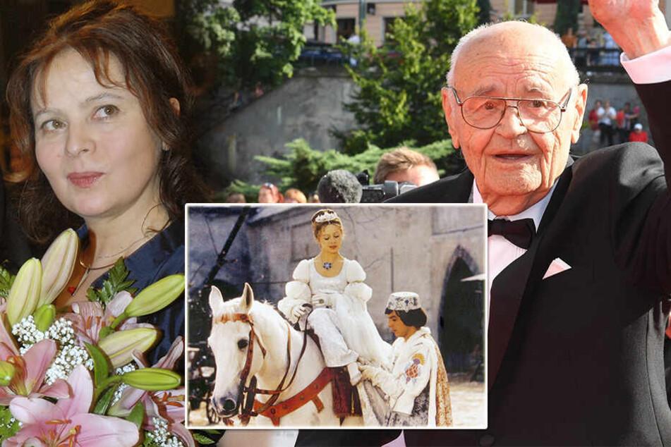 """Nach Tod von Vaclav Vorlicek: So trauert """"Aschenbrödel"""" Libuse Safrankova"""