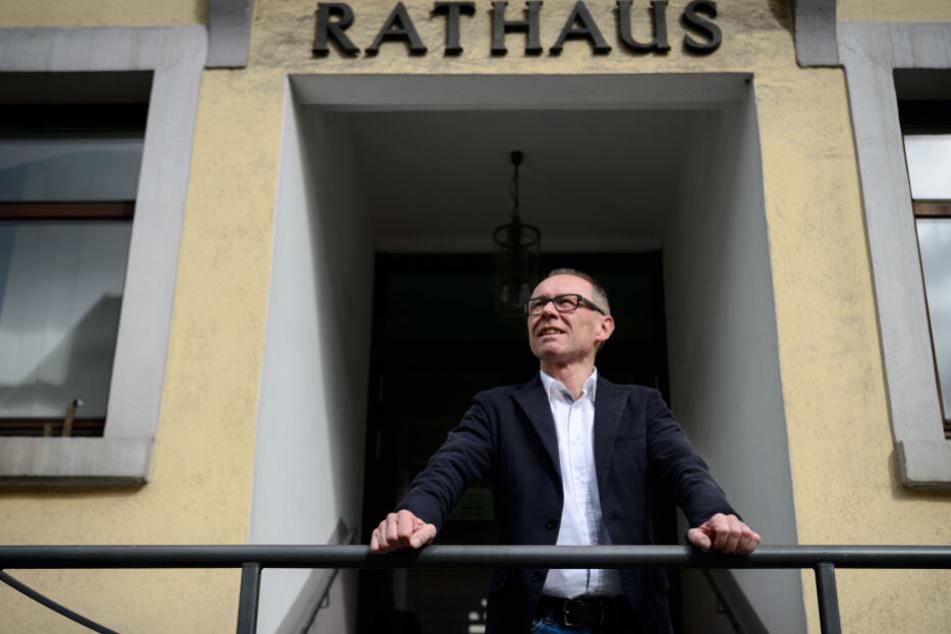 Harry Ebert gibt sein Amt als Bürgermeister von Burladingen Mitte 2020 auf.