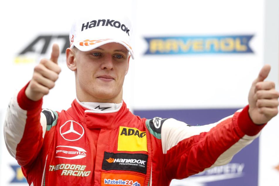 MIck Schumacher hat den EM-Titel der Formel 3 gewonnen. (Archivaufnahme)