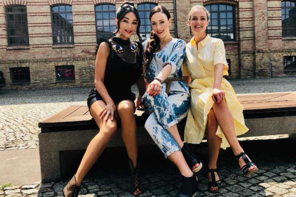 """Verona Pooth, Jasmin Wagner und Eva Brenner kämpfen bei """"Promi Shopping Queen"""" um die Krone."""