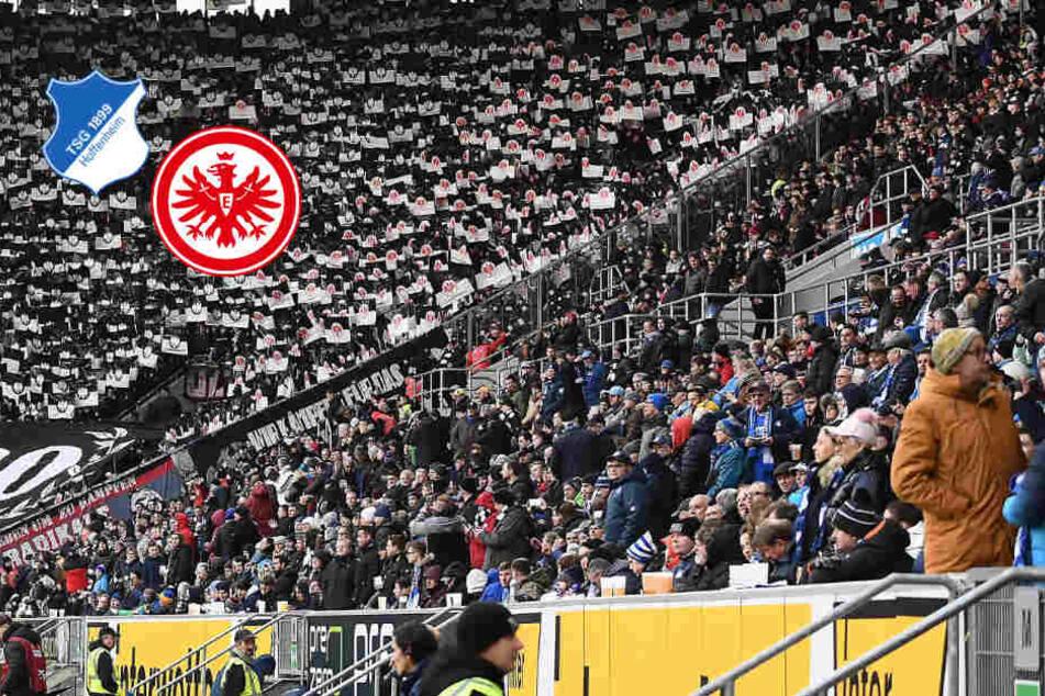 Notfall bei Hoffenheim gegen Frankfurt: Fankurve schweigt