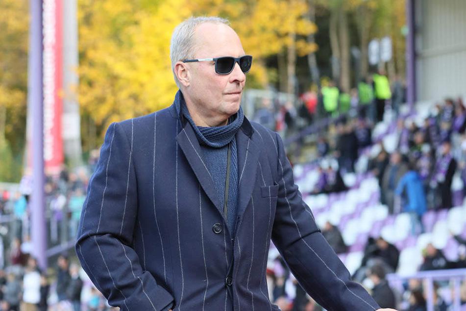 FCE-Präsident Helge Leonhardt blickt voraus - im Winter sollen mindestens zwei Verstärkungen her.