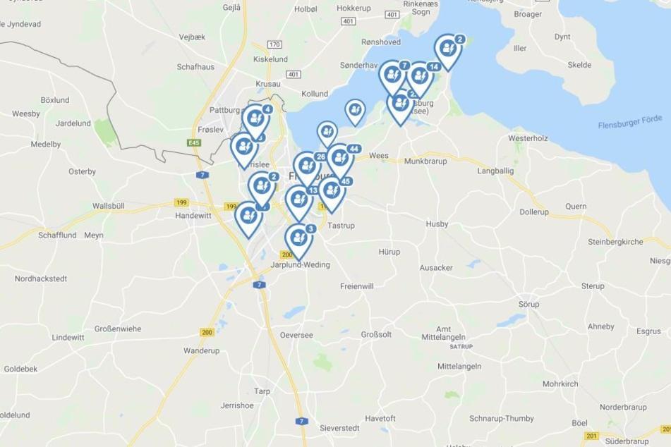 In Flensburg und weiteren Orten in der näheren Umgebung ist der Strom ausgefallen.