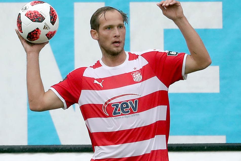 René Lange steht beim FSV Zwickau nach fünfwöchiger Verletzungspause vorm Comeback. Vielleicht kommt er ja schon heute im Sachsenpokal-Spiel bei Einheit Kamenz zum Einsatz.