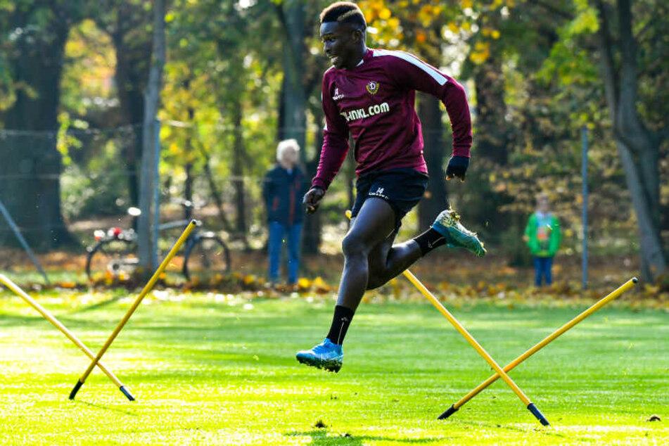 Moussa Koné ist weiterhin Dynamos wertvollster Spieler.