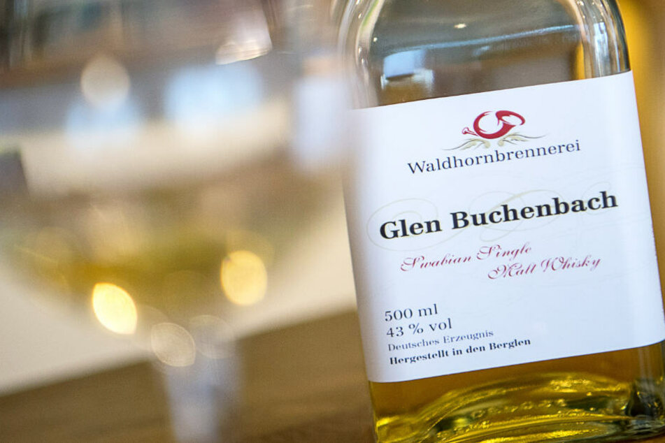 """Noch darf sich der Whisky aus Baden-Württemberg """"Glen Buchenbach"""" nennen."""