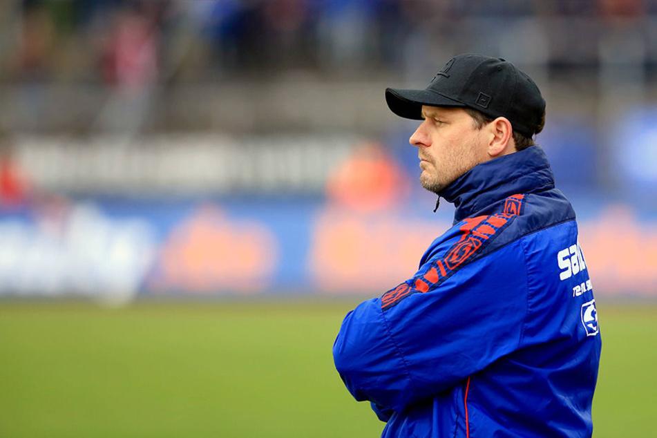 Viel aufregendes gab es für Trainer Steffen Baumgart in Köln nicht zu sehen.