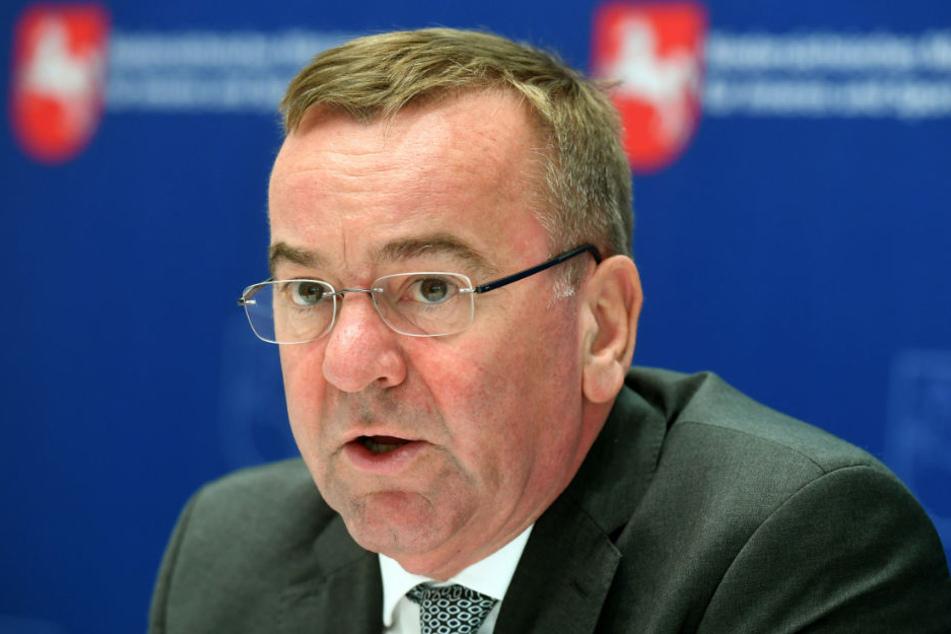 Boris Pistorius (SPD) ist Innenminister in Niedersachsen.