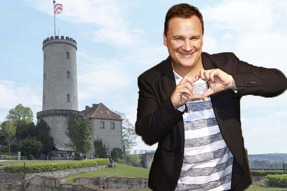 Der Designer Guido Maria Kretschmer hat sich anscheinend in die Stadt Bielefeld verliebt.