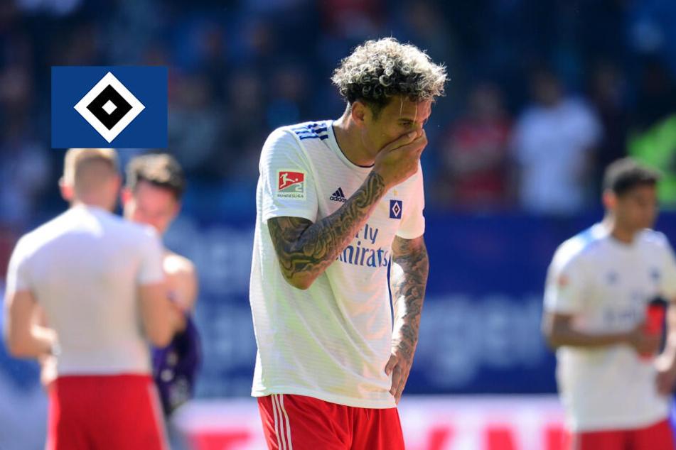"""HSV-Aufstieg in Gefahr: """"Gute Leistung"""" reicht gegen Aue nicht zum Sieg"""