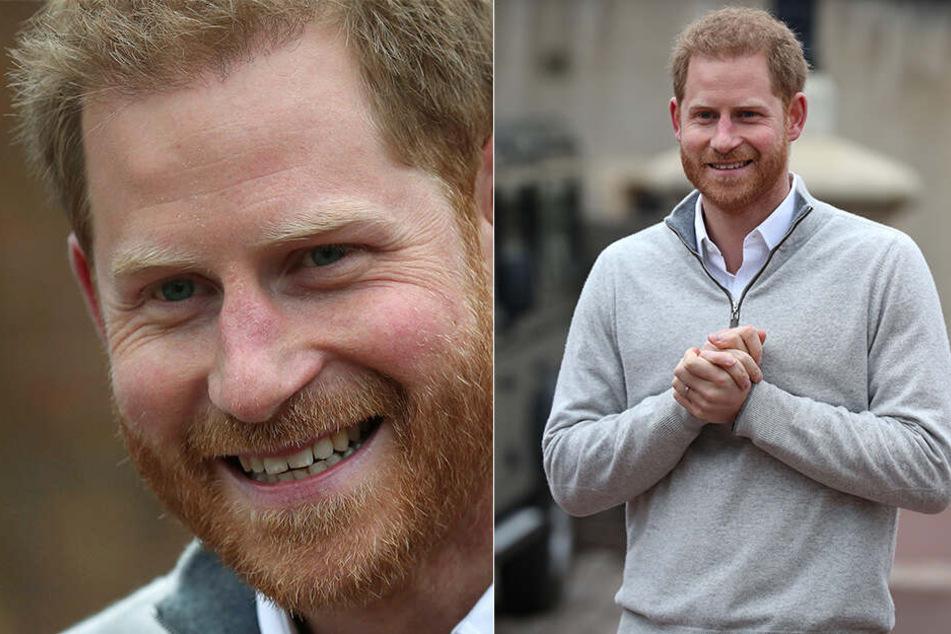 Prinz Harry ist auf dem Weg, um nach der Geburt seines ersten Kindes mit der Presse zu sprechen.