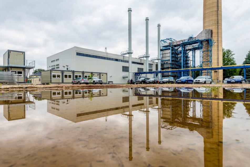 Seit 1976 besteht das Heizwerk in Altchemnitz und wird nun erstmals umfassend saniert. Es könnte ein Viertel aller Haushalte mit Fernwärme versorgen.