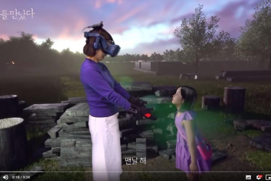 Virtual Reality: Mutter mit verstorbener Tochter wiedervereinigt