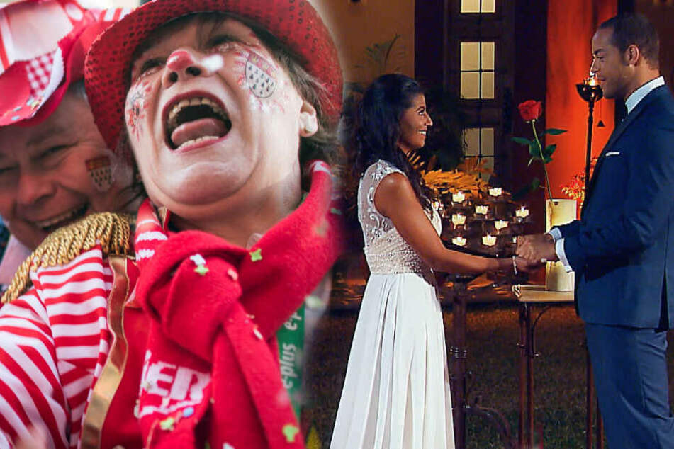 Karneval verweist Bachelor nur auf Platz 3 im Fernsehen!