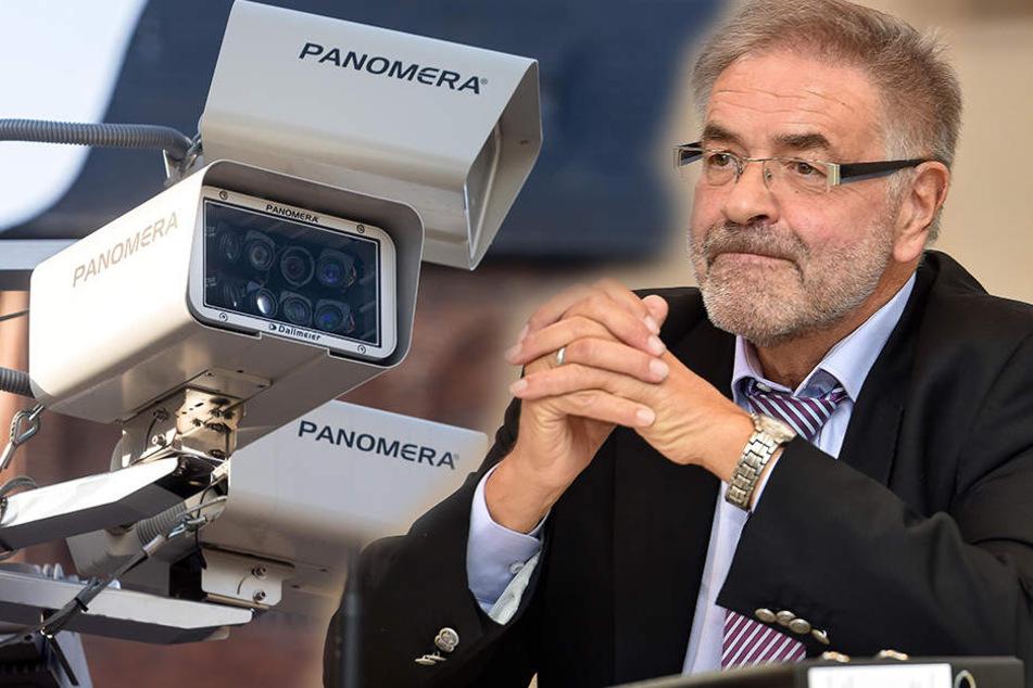 Klaus Bartl (68, Linke) will die Chemnitzer Videoüberwachung im Rechtsausschuss des Landtages diskutieren.