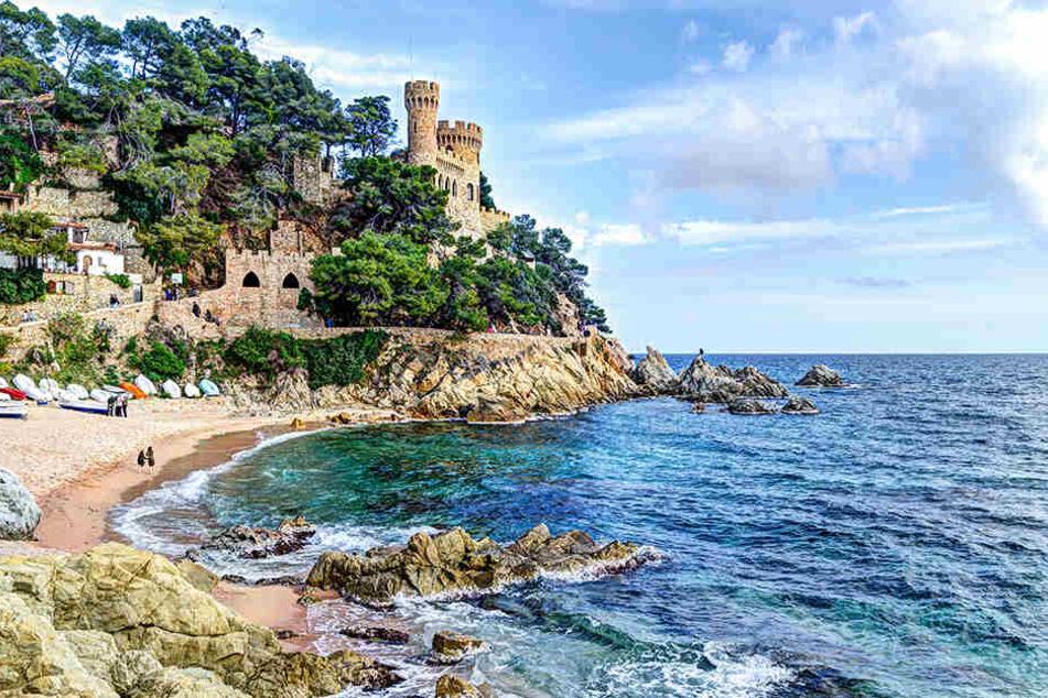 Ein junger Tourist ertrank im Mittelmeer am Küstenort Cambrils (Symbolbild)