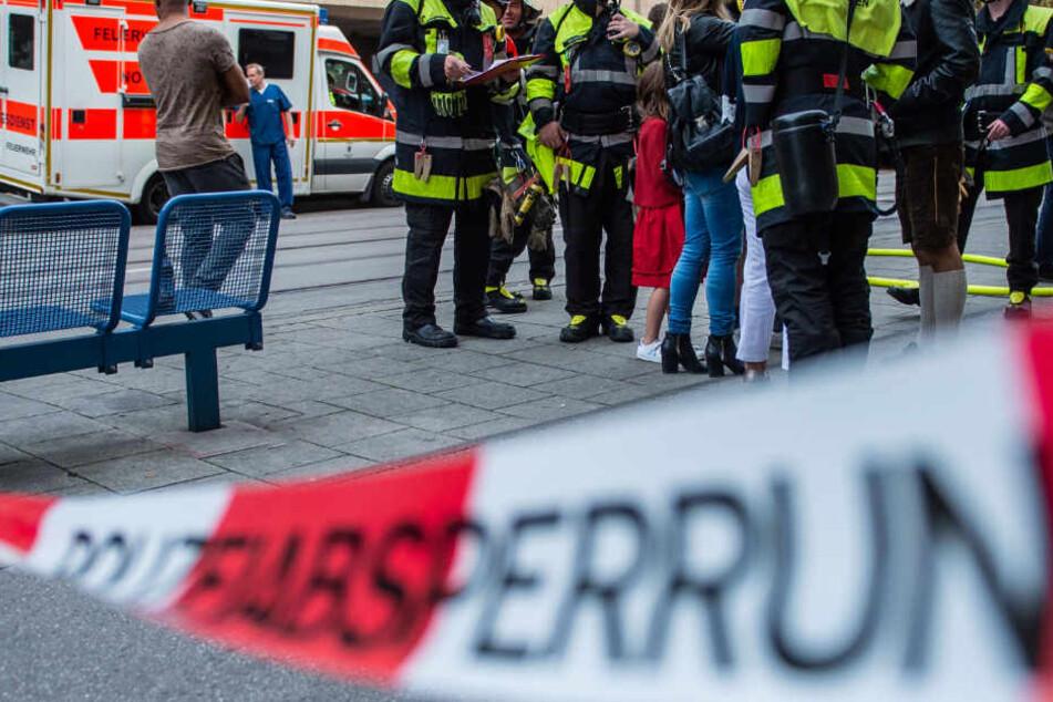 Die Feuerwehr in München musste zu einem schweren Brand ausrücken. (Symbolbild)