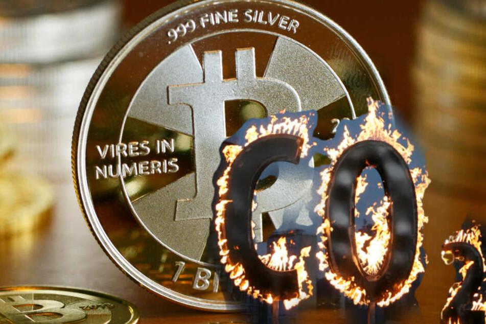 München: Bitcoin-Währung verursacht mehr Kohlendioxid als Jordanien