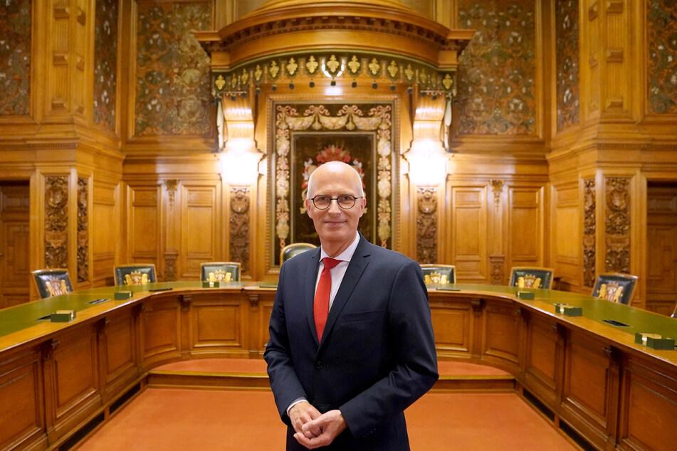 Peter Tschentscher (55, SPD), Erster Bürgermeister und Präsident des Senats der Freien und Hansestadt Hamburg.