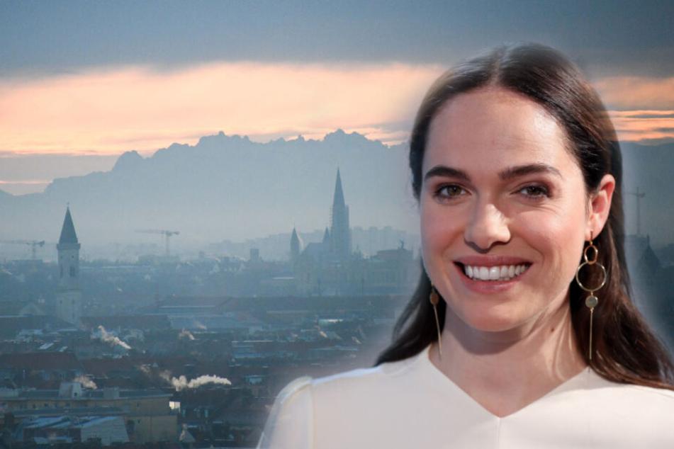 Verena Alternberger (31) ermittelt in Zukunft als Fernseh-Kommissarin in München. (Bildmontage)