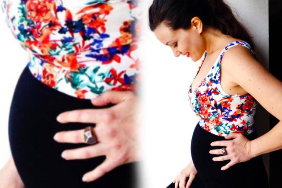 Eine Woche zuvor hatte die Sopranistin ihre Schwangerschaft verkündet.