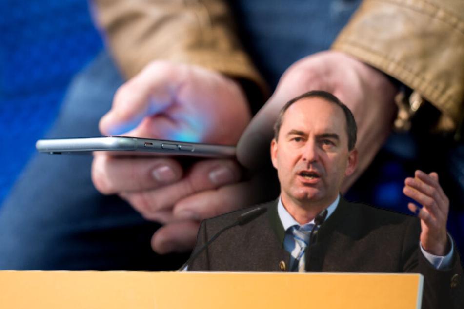 Kein Handyempfang im Zug? Aiwanger setzt Telefonkonzerne unter Druck