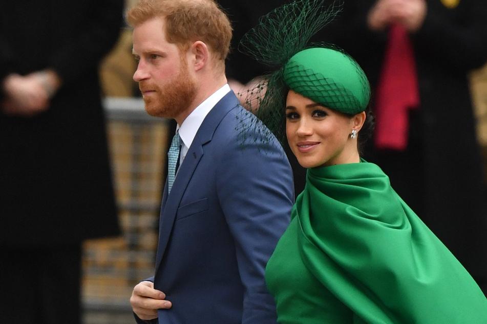 Prinz Harry (35) und Meghan (38). (Archivbild)