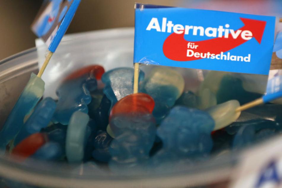 Süßigkeiten von der AfD wurden in einem Kindergarten verteilt.