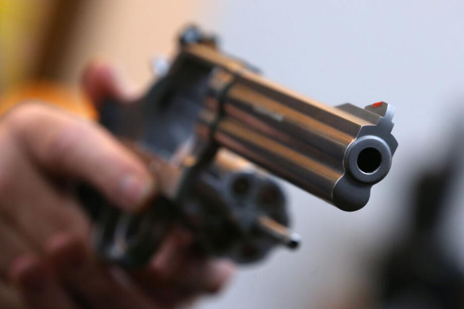 Der Mann hatte zahlreiche Waffen und mehrere Hundert Schuss Munition auf dem Gelände gehortet. (Symbolbild)