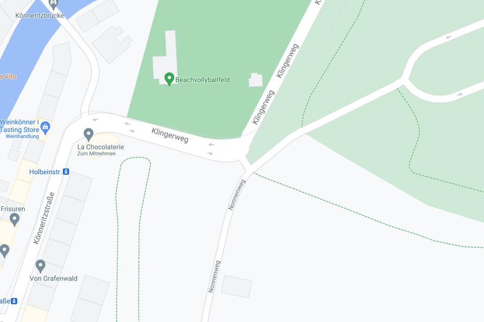 Das geparkte Fahrzeug wurde im Bereich Anton-Bruckner-Allee/Nonnenweg gefunden.