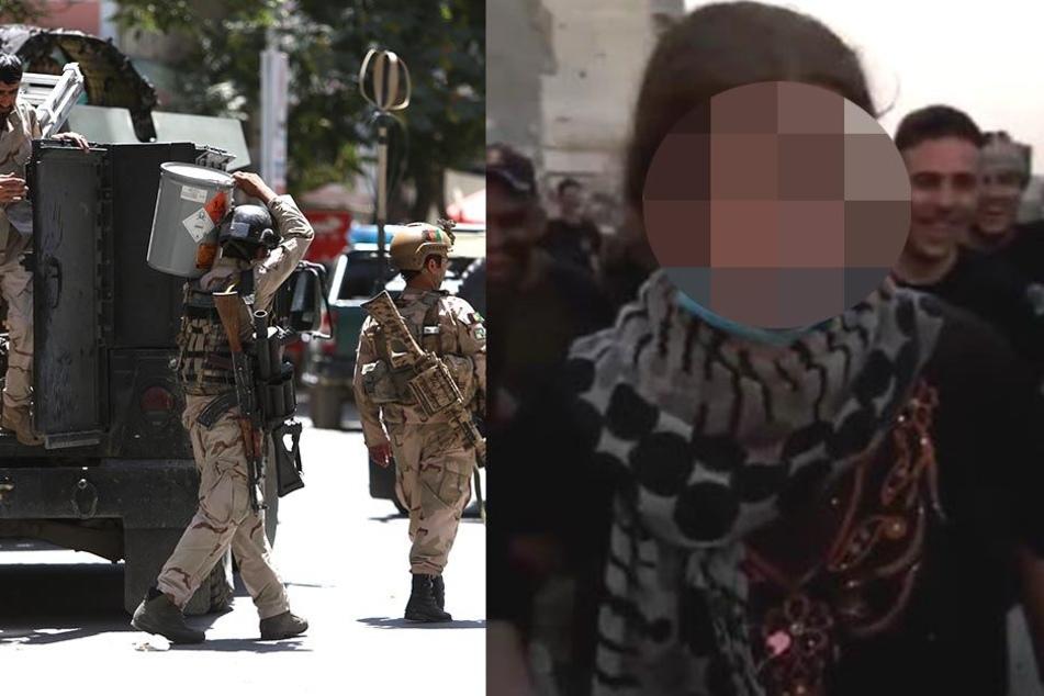 Im Video: Hier wird die 16-jährige IS-Kämpferin Linda festgenommen