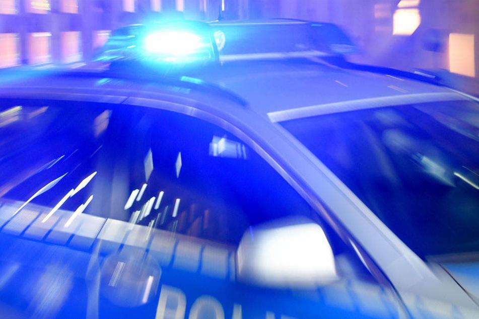 Der 15-Jährige rammte sogar ein Polizeiauto und raste anschließend weiter. (Symbolbild)