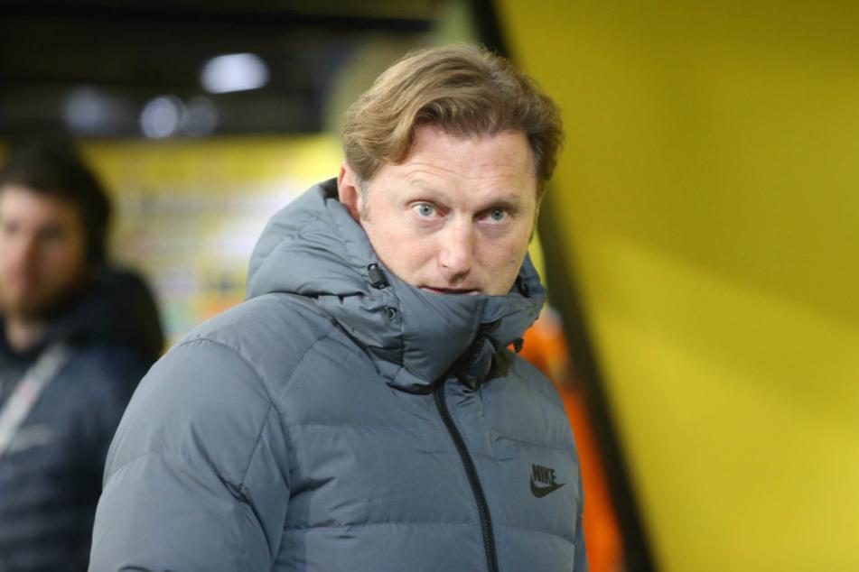 Ralph Hasenhüttl rechnet nicht mit Gegenaggressionen der RB-Fans nach den schlimmen Ausschreitungen von BVB-Hooligans in Dortmund.