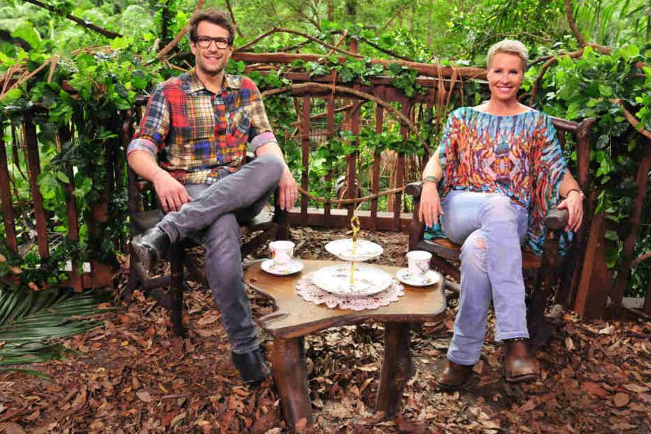 Sie haben Grund zum Strahlen: Sonja Zietlow (49)und Daniel Hartwich (39) können es wohl kaum noch abwarten, die Camper leiden zu sehen.
