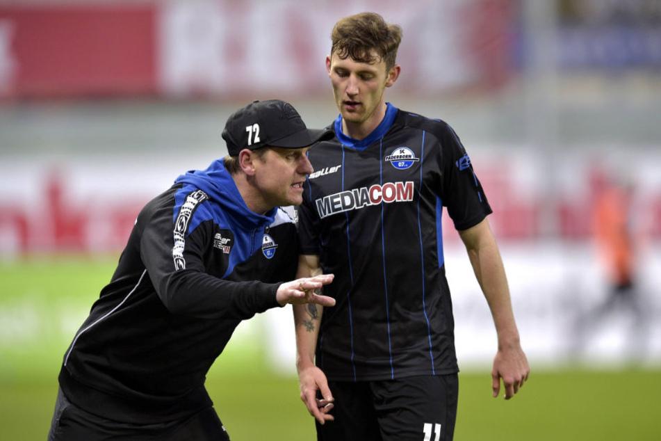 Christian Bickel verlässt den SC Paderborn.