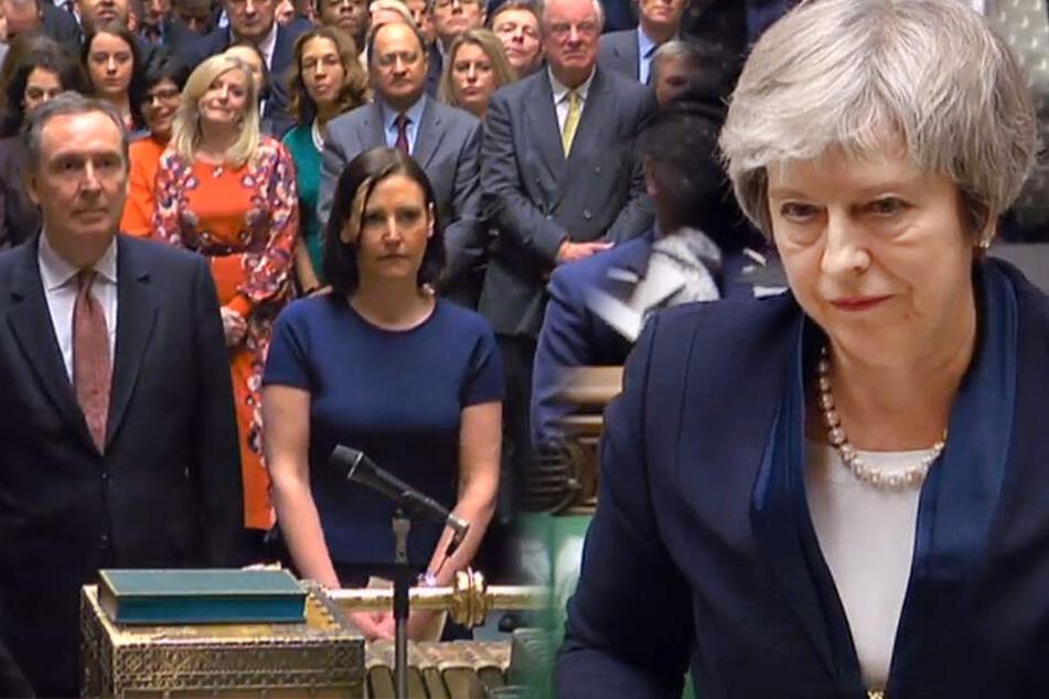 Britisches Parlament lehnt Brexit-Abkommen ab