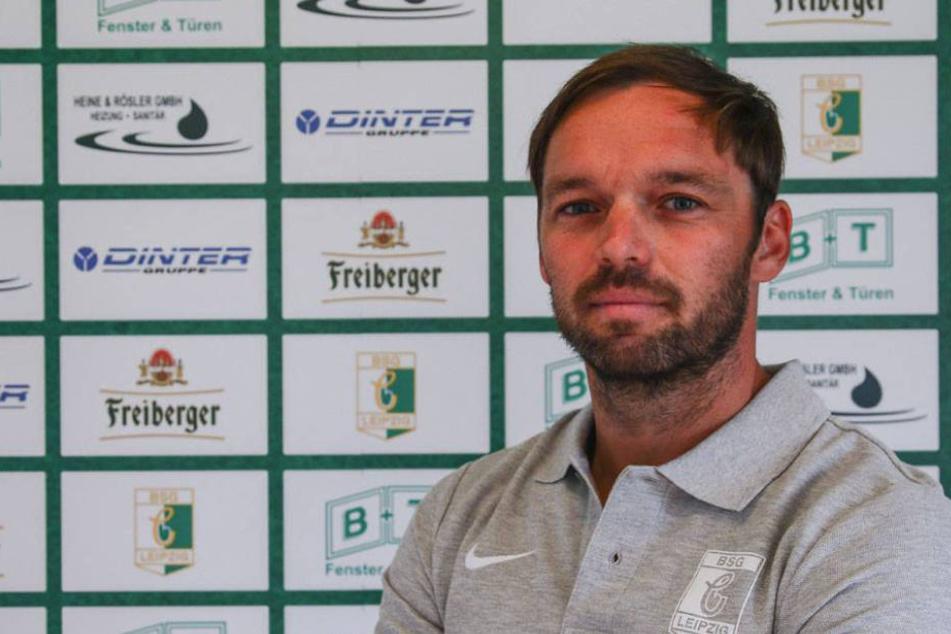 Andy Müller (37) spielte selbst mehrere Jahre für die BSG Chemie Leipzig.