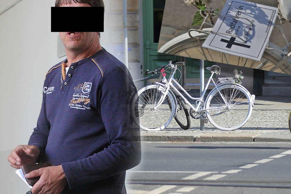 Tödlicher Radunfall an Bautzner Straße: Hätte er sie sehen können?
