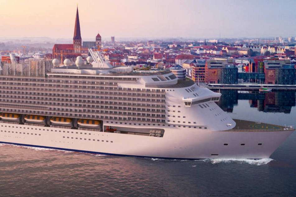 Passagier-Rekord! Größtes Kreuzfahrtschiff der Welt entsteht in Deutschland