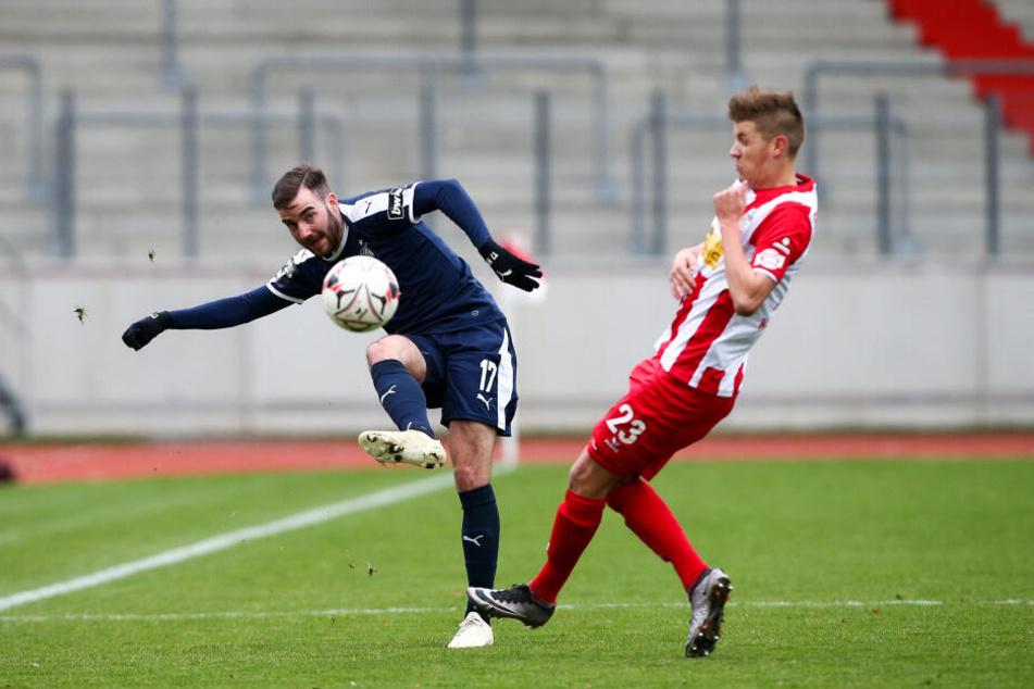 Morris Schröter erzielte das 1:0 für den FSV.