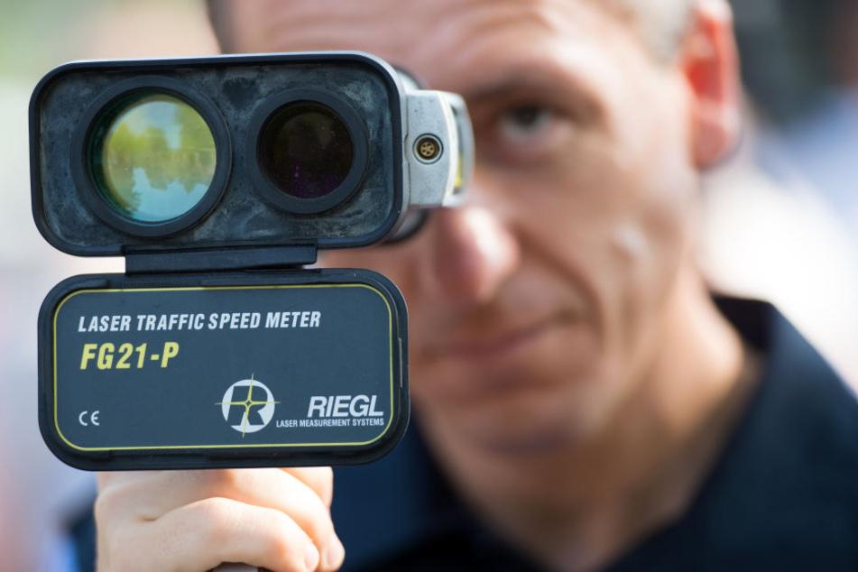 Die Polizei ist auch mit mobiler Videoüberwachung unterwegs.